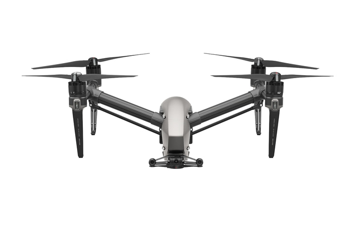 Дрон DJI Inspire 2 с лицензией CinemaDNG and Apple ProRes-5