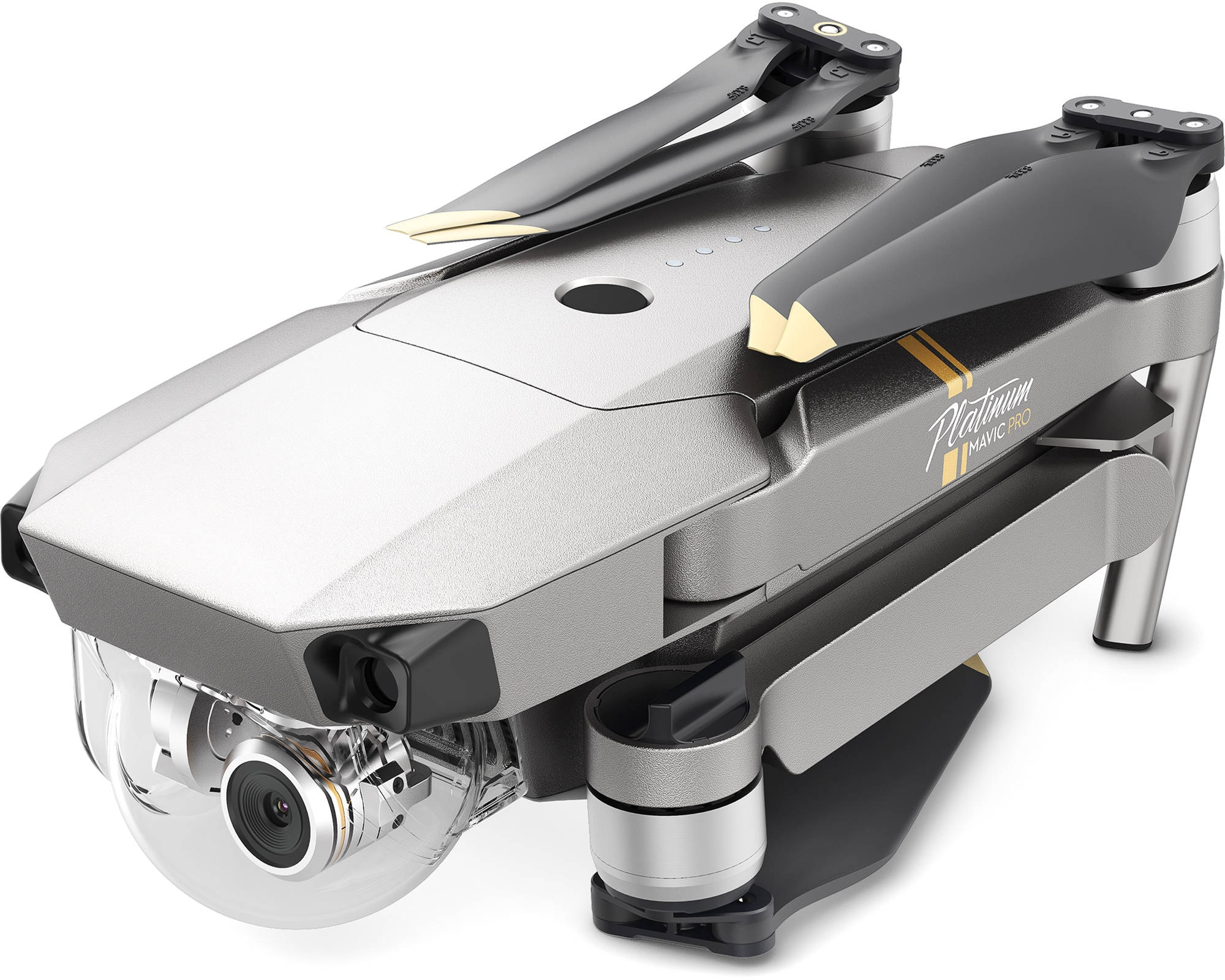 Дрон DJI Mavic Pro Fly More Combo Platinum-1