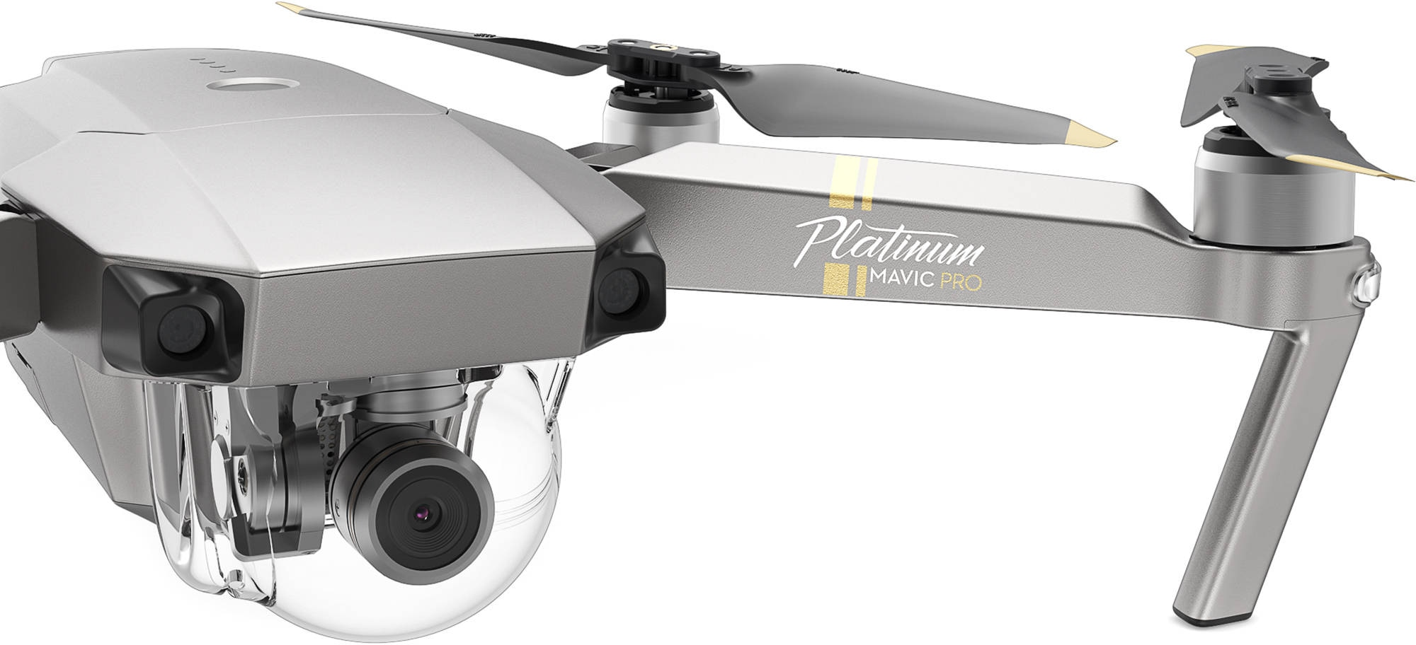 Дрон DJI Mavic Pro Fly More Combo Platinum-3
