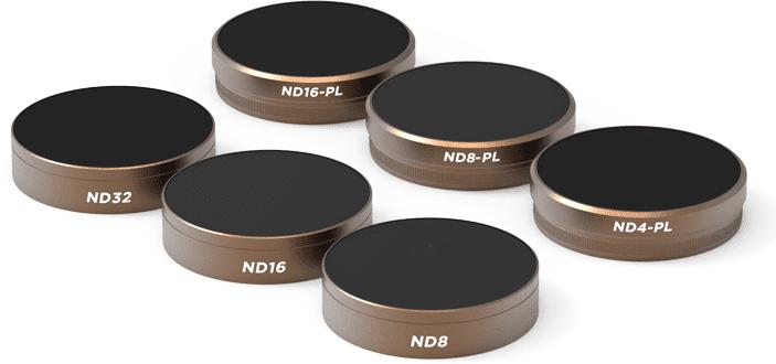 Набор фильтров PolarPro Cinema Series 6-Pack для Phantom 4 Pro/Adv-1
