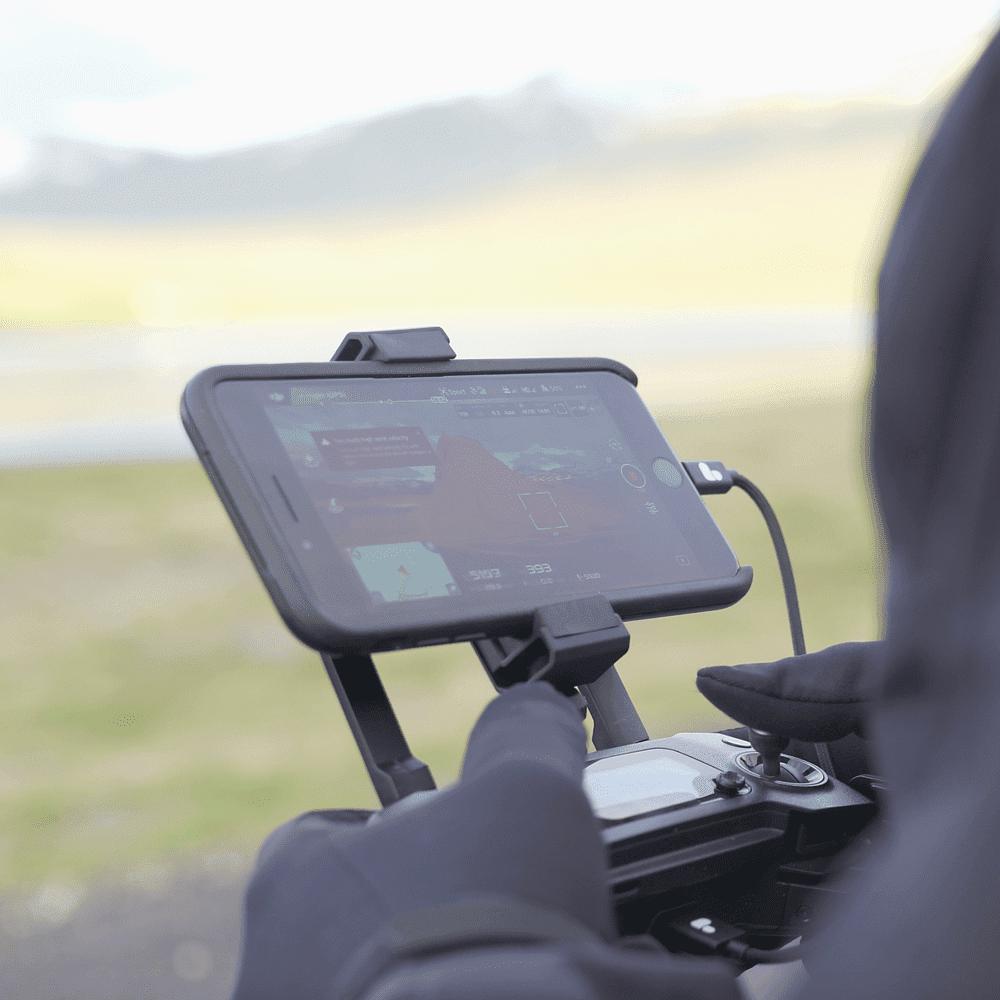 Держатель телефона PolarPro Phone Mount для Mavic Pro-6