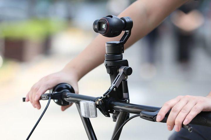 Крепление на велосипед для DJI Osmo Bike Mount-5