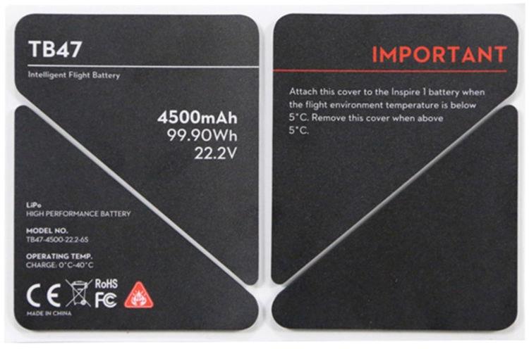 Изоляционная наклейка TB47 для Inspire 1 Insulation Sticker-0
