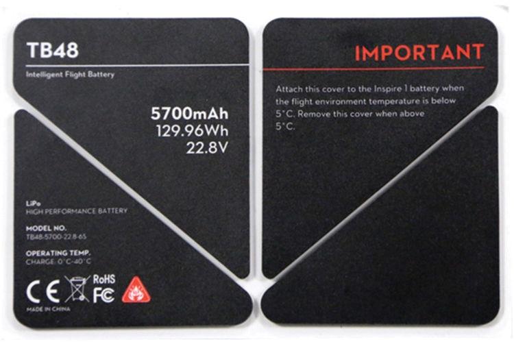 Изоляционная наклейка TB48 для Inspire 1 Insulation Sticker-0