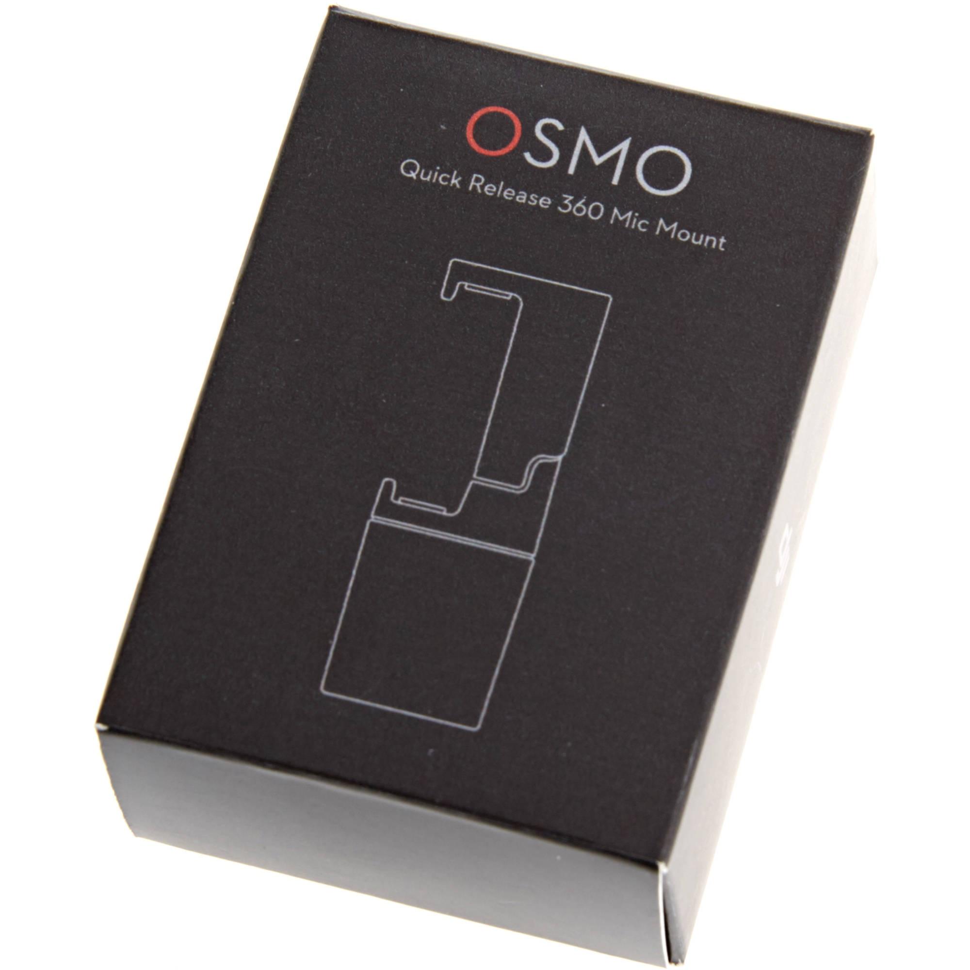 Быстросъемное крепление микрофона для DJI Osmo Quick Release 360 Mic Mount-6