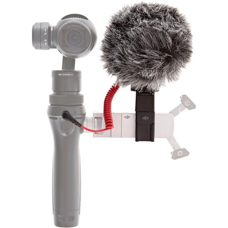 Микрофон RODE VideoMicro и быстросъемное 360° крепление для DJI Osmo-0