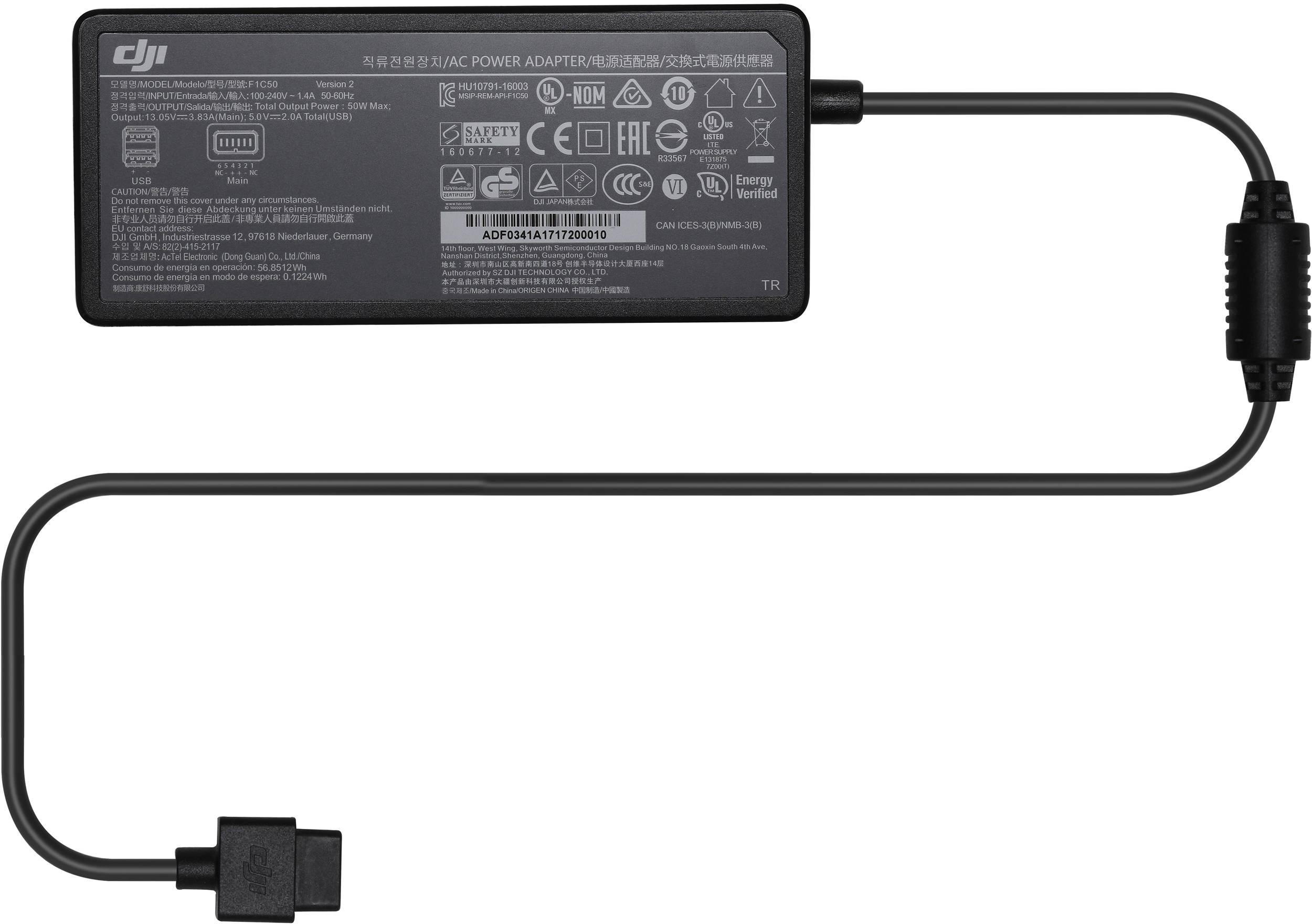 Зарядный хаб для 3 батарей Spark Battery Charging Hub-7