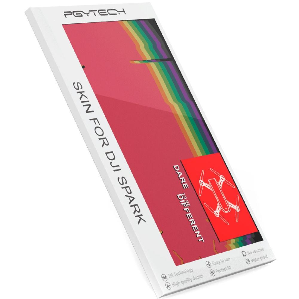 Набор полноцветных наклеек PGYTECH Skin Colorful Set для DJI Spark-3