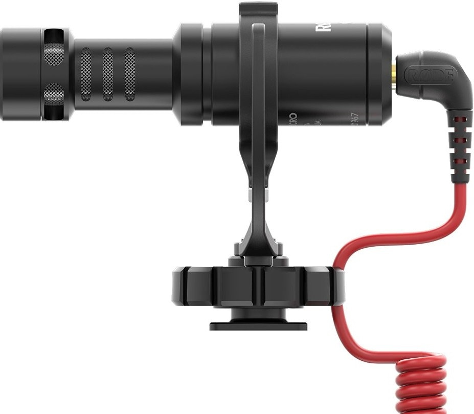 Микрофон RODE VideoMicro и быстросъемное 360° крепление для DJI Osmo-1