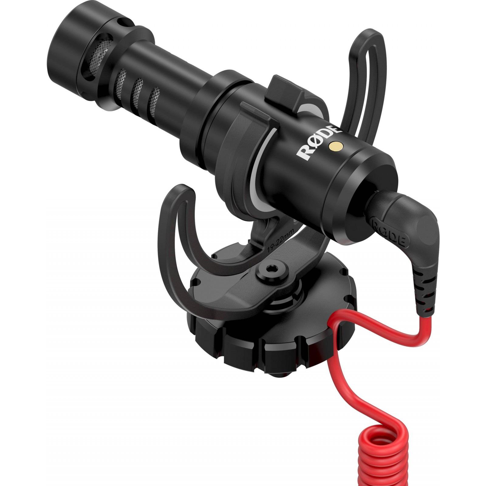 Микрофон RODE VideoMicro и быстросъемное 360° крепление для DJI Osmo-2