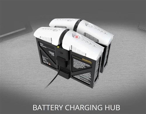 Зарядный хаб для 4 батарей Inspire 1 Battery Charging Hub-6