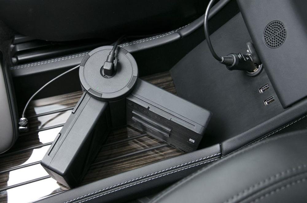 Автомобильное зарядное устройство для Inspire 2 Car Charger-5