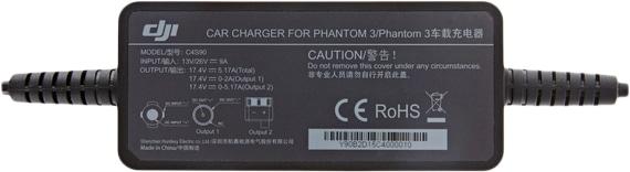 Автомобильное зарядное устройство для Phantom 3 Car Charger-2