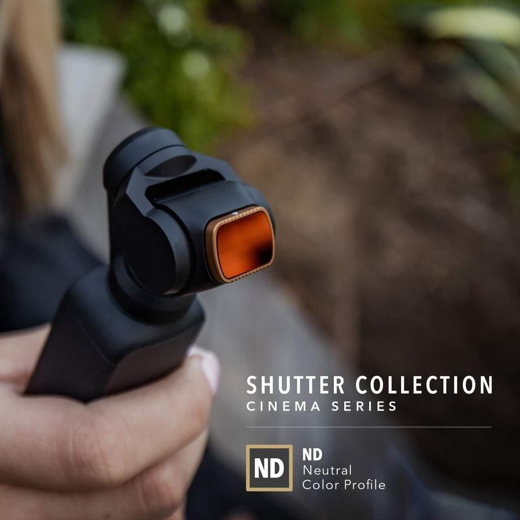 Набор фильтров Cinema Series SHUTTER для камеры Osmo Pocket-3