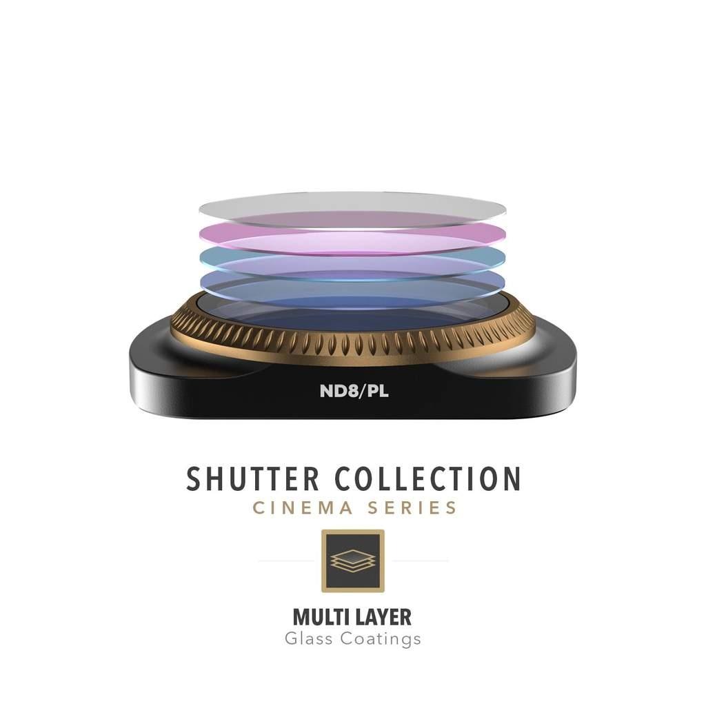 Набор фильтров Cinema Series SHUTTER для камеры Osmo Pocket-2