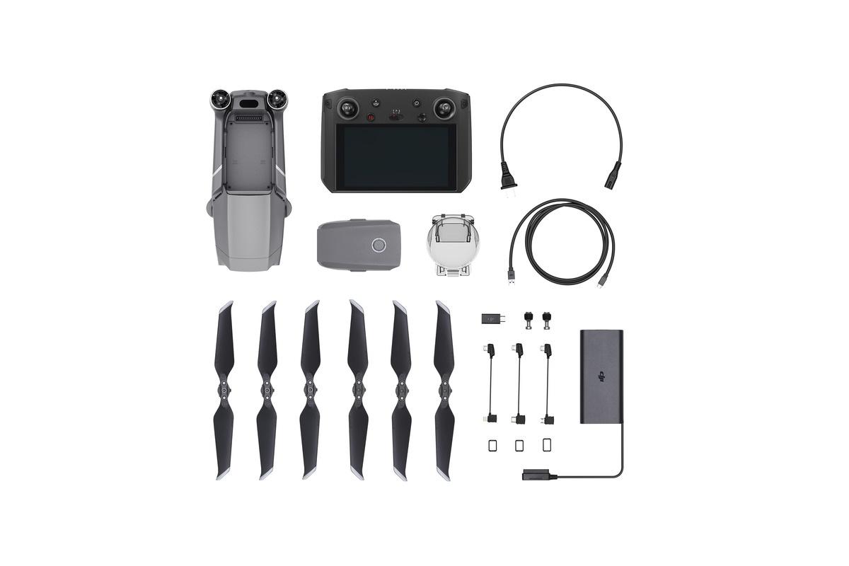 Дрон DJI Mavic 2 Pro и уникальный пульт Smart Controller-2