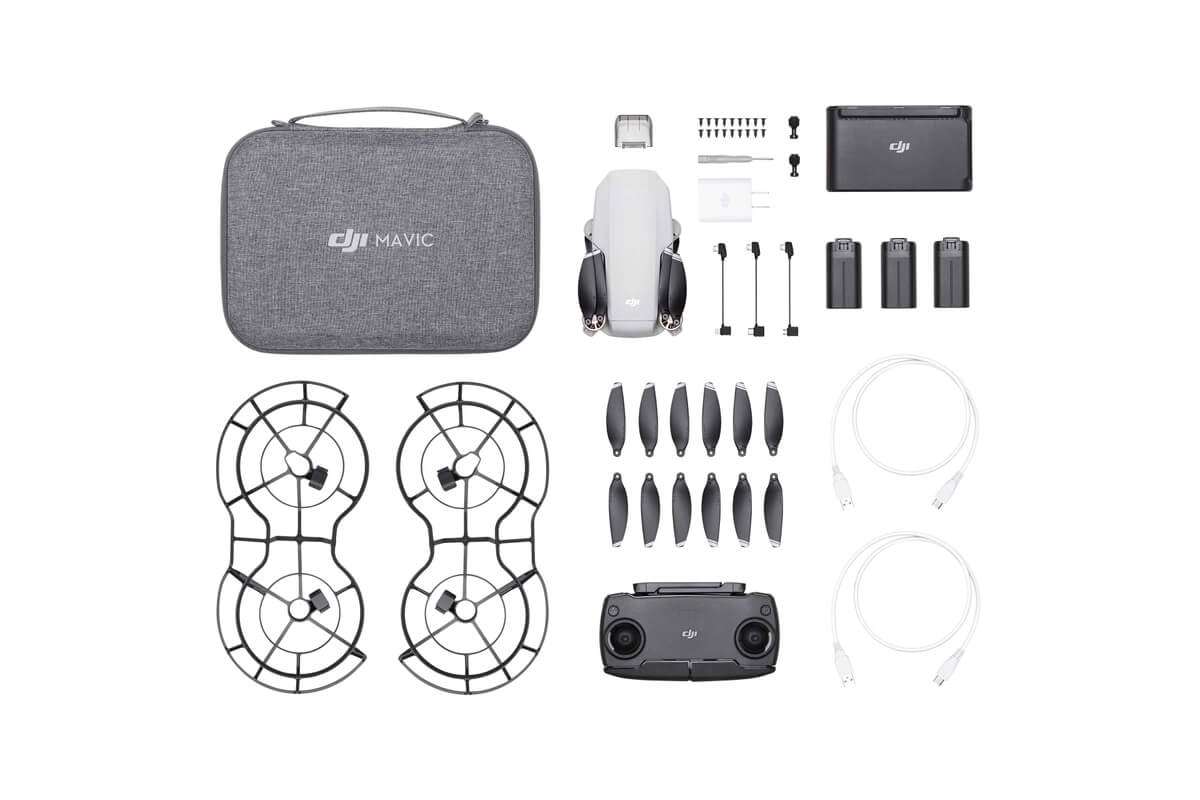 Мини дрон DJI Mavic Mini Fly More Combo-5