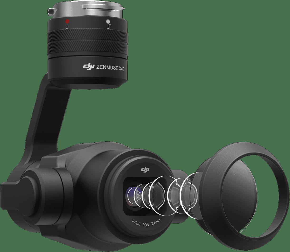 Дрон DJI Inspire 2 с камерой Zenmuse x4S (trade in)-2