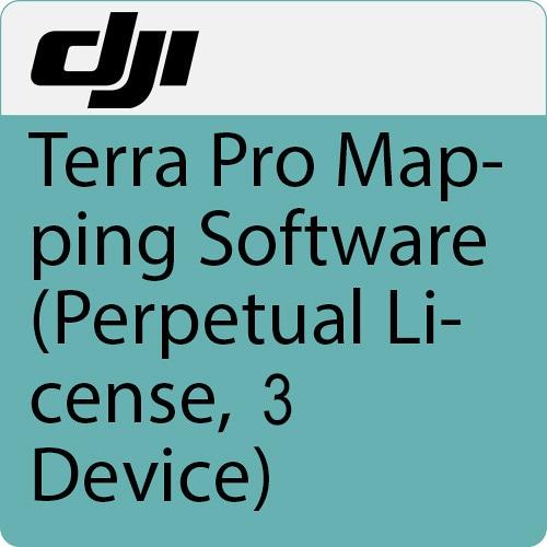 Программное обеспечение DJI Terra Pro бессрочная лицензия 3 устройства-0