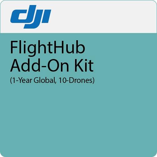 Дополнение к ПО DJI FlightHub Add-on Kit 1 год 10 дронов-0