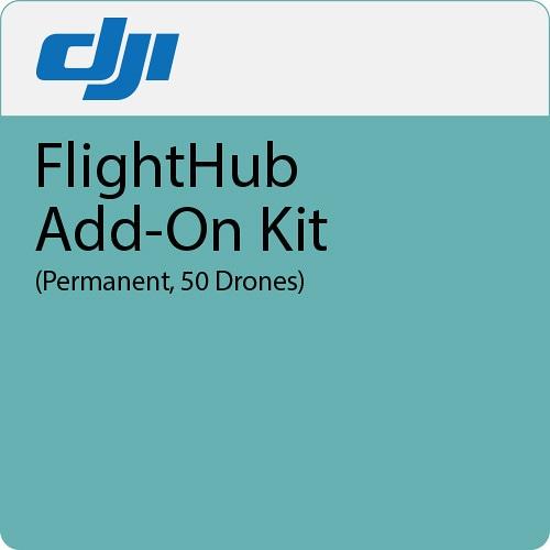Дополнение к ПО DJI FlightHub Add-on Kit безлимит 50 дронов-0