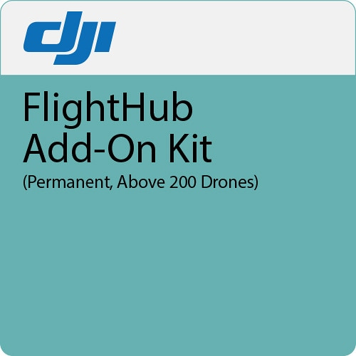 Дополнение к ПО DJI FlightHub Add-on Kit безлимит более 200 дронов-0