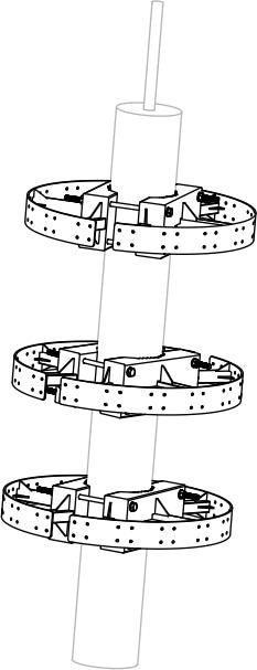 Крепление антенны DJI Aeroscope G-16 Antenna Frame-0