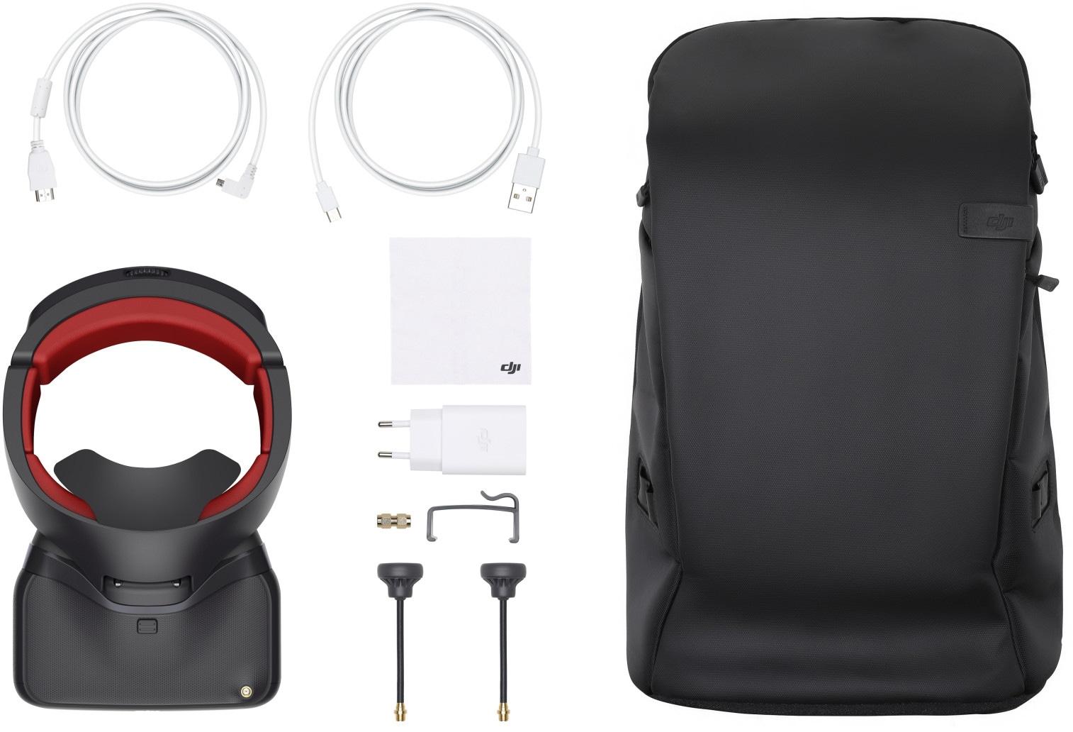Очки DJI Goggles Racing Edition + Carry More Backpack-7
