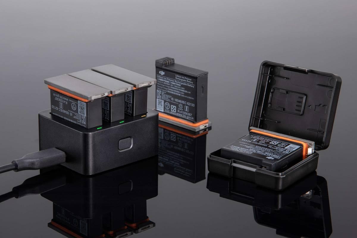 Зарядный комплект Osmo Action Part 6 Charging Kit-4